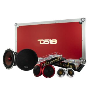 DS18 DELUXE3C 6.5″ 3-WAY SQ COMPONENT SYSTEM 300 WATTS